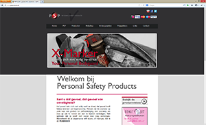 Personal Safety Products website